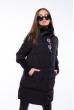 Куртка женская с воротником стойка 120PSKL6839 черный