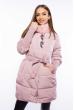 Куртка женская с воротником стойка 120PSKL6839 пудровый