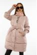 Куртка женская с воротником стойка 120PSKL6839 пудра