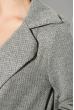 Кардиган женский, на пуговицах 64PD307 серый , петля