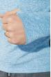 Кофта мужская для бега 306V001-7 голубой меланж