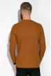 Джемпер однотонный 520F014 светло-коричневый
