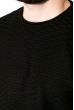 Джемпер однотонный 520F014 черный
