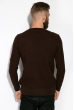 Джемпер однотонный 520F014 коричневый