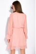 Легкое шифоновое платье 103P481 пудровый