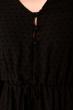 Легкое шифоновое платье 103P481 черный