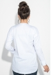 Блузка женская с миниатюрными нашивками 64PD286-2 белый