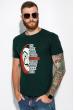 Мужская футболка 134P022 сериал Бумажный дом изумрудный