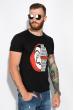 Мужская футболка 134P022 сериал Бумажный дом черный