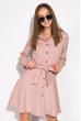 Лаконичное платье 120POI20008 капучино