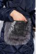 Куртка женская 120PAM6235 темно-синий