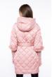 Куртка женская стеганая 120PSKL6629 пудра