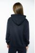 Костюм спортивный женский 85F10150-5 с капюшоном темно-синий