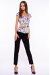 Блуза женская 118P068 цветочный принт