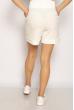 Костюм женский (топ, шорты) 220PELK688 белый