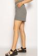 Костюм женский (топ, шорты) 220PELK688 серый