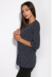 Блуза женская 118P241 темно-синий