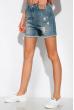 Женские шорты 162P018 светло-синий