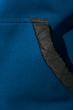 Толстовка мужская с капюшоном, стеганный верх 70PD5003 джинсово-синий
