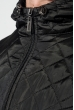 Толстовка мужская с капюшоном, стеганный верх 70PD5003 светло-серый меланж