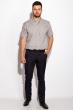 Рубашка 511F049 серый