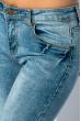 Джинсы женские классические 888K002 синий варенка