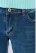 Джинсы женские классические 697K002 junior темно-синий