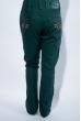 Джинсы для девочек 125P012 junior темно-зеленый