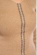 Джемпер приталенного кроя 605F002 песочный