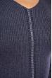 Джемпер приталенного кроя 605F002 серый