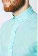 Рубашка мужская 100% коттон 333F008 светло-бирюзовый