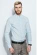 Рубашка мужская 100% коттон 333F008 голубой