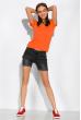 Футболка женская с круглым вырезом 434V002-1  терракотовый