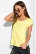 Футболка женская с круглым вырезом 434V002-1  светло-желтый