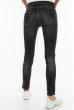 Джинсы женские Skinny  201P5093 с порваными коленями  темно-серый