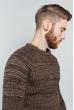 Свитер мужской повседневный 377F001 коричневый