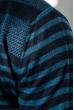 Кардиган мужской комбинация узоров 50PD13508 темно-синий