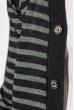 Кардиган мужской комбинация узоров 50PD13508 черно-серый