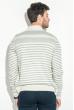 Кардиган мужской комбинация узоров 50PD13508 светло-серый меланж
