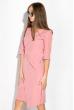 Платье (полубатал) на запах 136P685 фрезовый