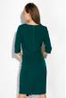 Платье (полубатал) на запах 136P685 бутылочный