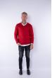 Пуловер 645F001 красный