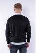 Пуловер 645F001 черный