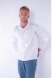Пуловер 645F001 белый