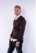 Пуловер 645F001 коричневый
