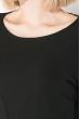 Платье женское спереди с разрезом 74PD312 черный
