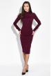 Платье-футляр 95P005 сливовый