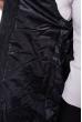 Жилетка женская с капюшоном 184P006 черный