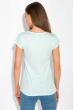 Принтованная женская футболка 147P016-15 светло-бирюзовый