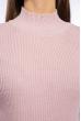 Гольф однотонный 607F006 бледно-розовый